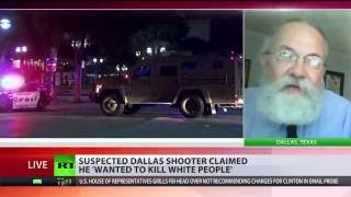 'Against violence': Dallas sniper attacked Black Lives Matter movement & police