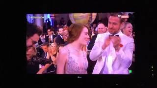 Emma Stone Golden Globe!