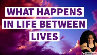 WHAT HAPPENS IN LIFE BETWEEN LIFE EXPERIENCES?
