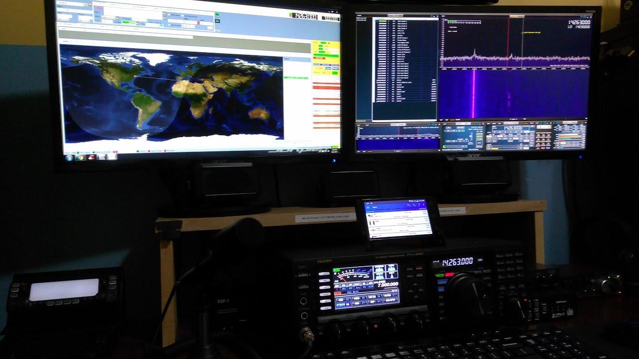 SDRuno, FTDX 3000, Omnirig & LOG4OM Logger (MV011)
