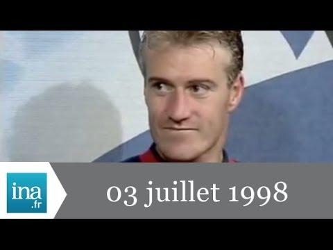 20h France 2 du 3 juilllet 1998 - La France va en 1/2 finale - Archive vidéo INA