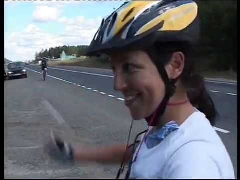 ФИЛЬМ Юрия Чмелева о велопробеге Екатеринбург-Лондон 2008 год (часть1)