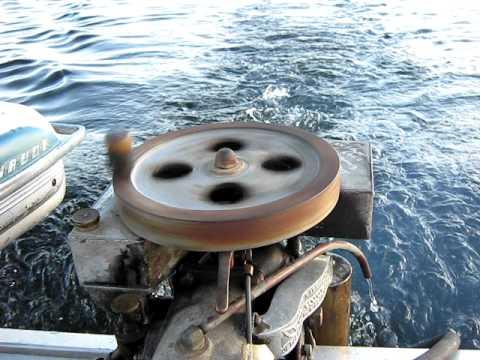 Antique 1913 Evinrude detachable rowboat motor outboard motor