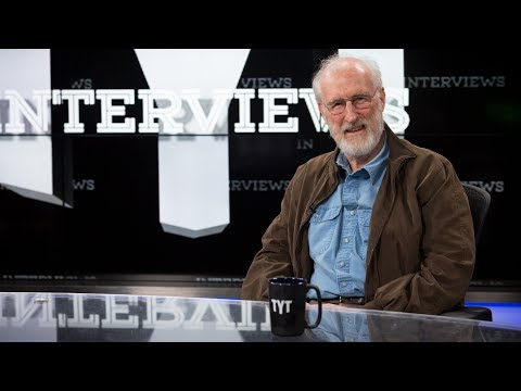 James Cromwell  with Cenk Uygur on The Young Turks
