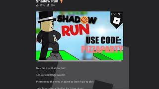 Shadow Run-Roblox-QaA