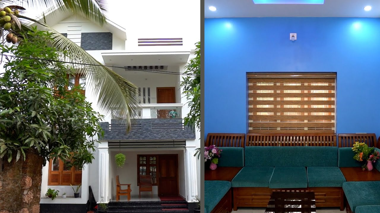 Attractive duplex home with eye catching interior and exterior design