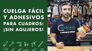 CUELGA FÁCIL y ADHESIVOS para cuadros: SIN AGUJEROS!
