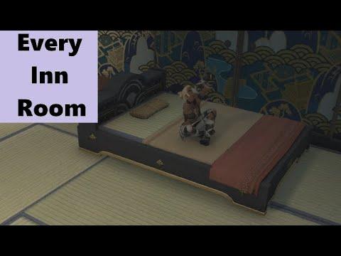 Every Inn room in FFXIV