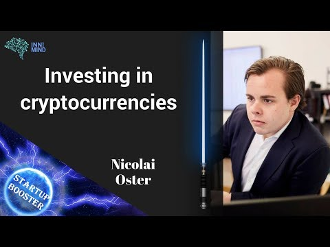 Startup Booster: Investing in cryptocurrency with Nicolai Oster