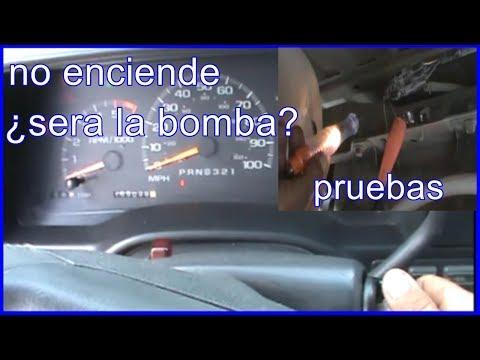 como probar la bomba de gasolina (sin quitarla)