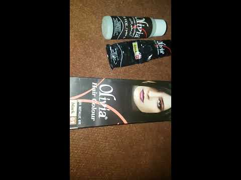 How To Colour Your Hair At Home Olivia Hair Colour Review Youtube
