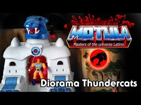 Diorama para los Thundercats