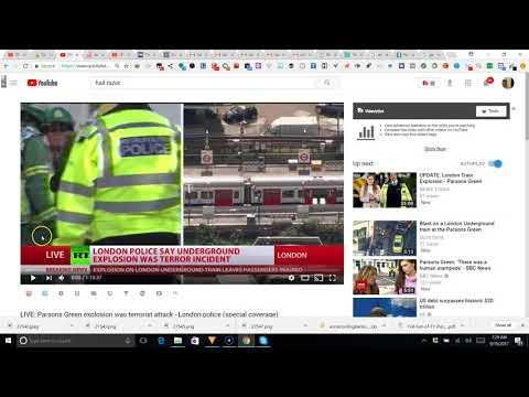 london train false flag?