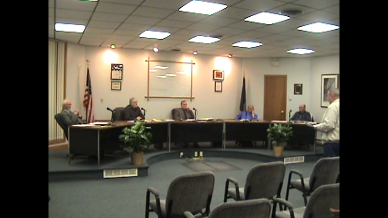 Rouses Point Village Board Meeting  4-19-10