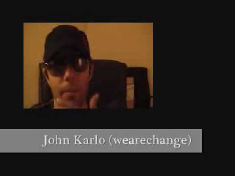 July 11 2007 We Are Change Seattle activist John Karlo confronts 911 truth denier