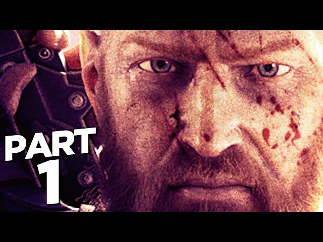 OUTRIDERS PS5 Walkthrough Gameplay Part 1 - PROLOGUE (FULL GAME)
