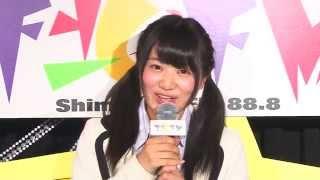 植田碧麗(NMB48 チームBⅡ) 下北FMコメント 2014.05.08
