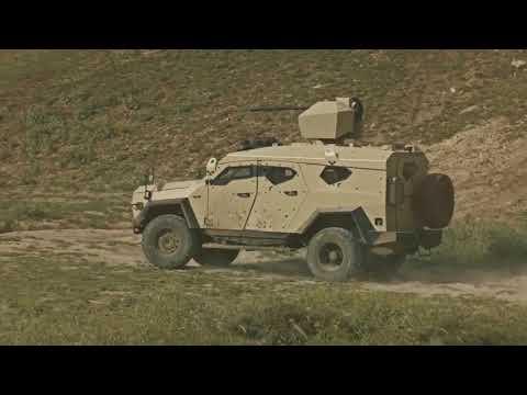 Plasan SandCat MLPV Mine Resistant Light Patrol Vehicle
