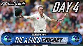 Cricket 19 The Ashes 2nd Test at Lords Day 4 - Retro 90s BBC Style Presentation
