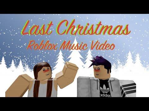 Last Christmas Ariana G Roblox Music Video