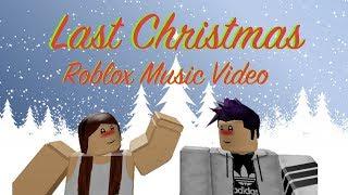 Last Christmas | Ariana G. | Roblox Music video