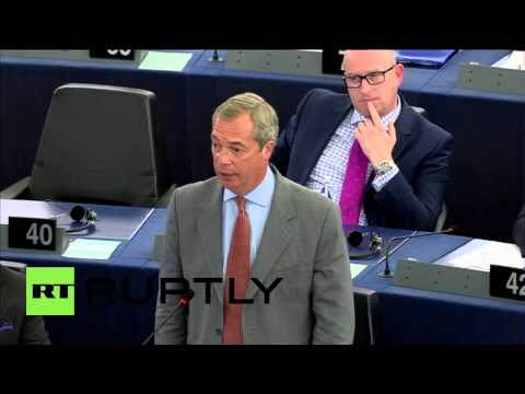 France: Farage evokes the Bible, ISIS and EU values to lambast Juncker