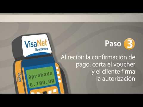 Aceptación de Tarjetas Visa con Tecnología Chip - VisaNet Guatemala.