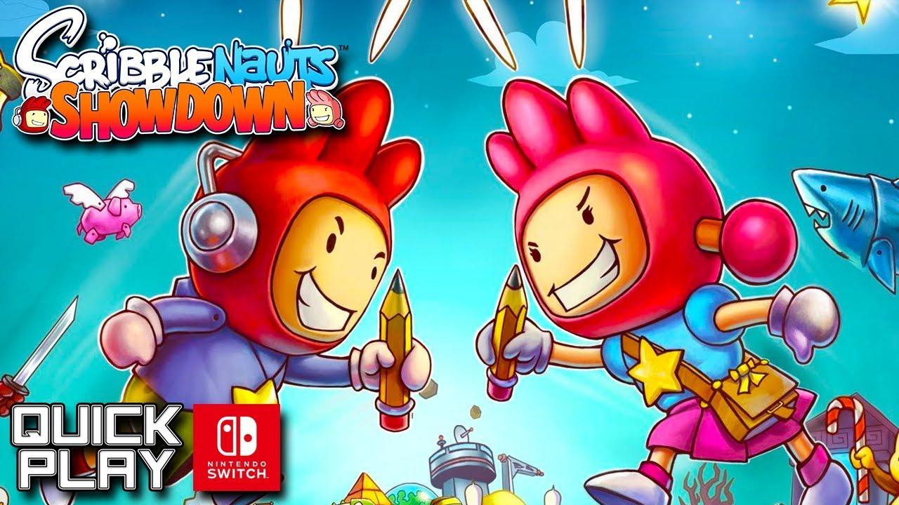 Scribblenauts Showdown Gameplay! Nintendo Switch! (Quick Play)