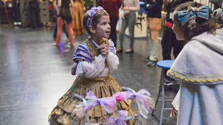 This 7-year-old with cancer becomes a ballerina