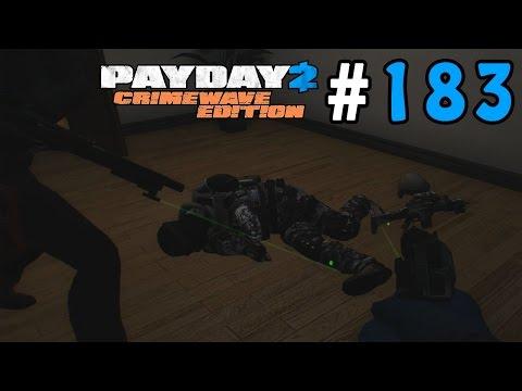 Payday 2: Crimewave Edition Walkthrough Part 183 - Almost A Stealth Job