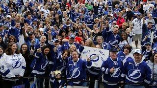 Tampa bay lightning fan sends message to fans, organization