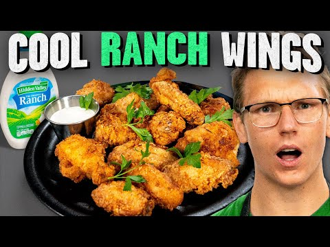 Cool Ranch Chicken Wings Recipe