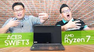 หลาม-เดชรีวิว acer swift3 AMD อัลตร้าบุ๊คสเปคดี ราคาเบา