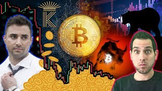 Is $1,260 a REALISTIC Bitcoin Bottom?!? Krown's Target Price, Market Manipulation & $BTC Halvening!