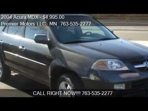 2004 acura mdx touring awd 4dr suv for sale in crystal mn. Black Bedroom Furniture Sets. Home Design Ideas