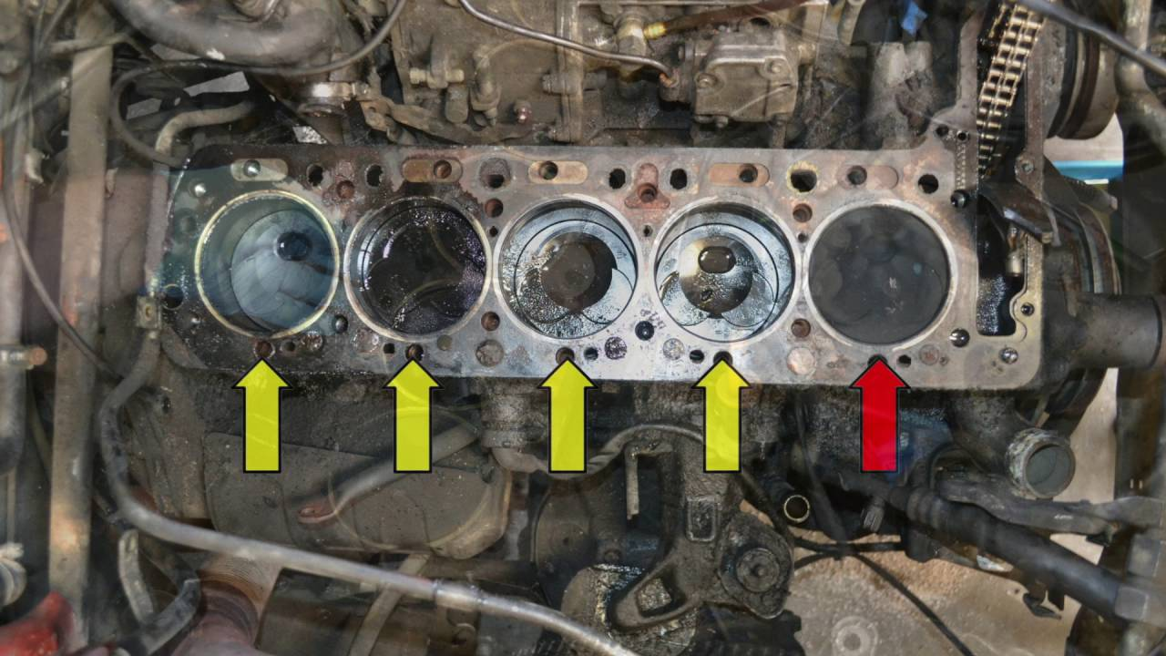 mercedes w123 head gasket - how to replace (pelican diy tech)