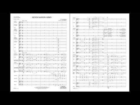 Seven Nation Army by Jack White/arr. Paul Murtha