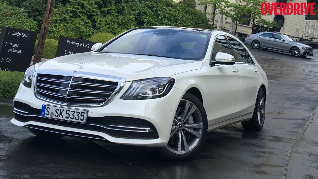 2018 Mercedes Benz S Cl First Drive Review