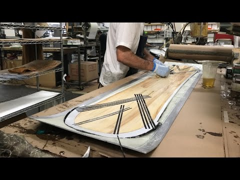 Building a Custom Snowboard at the Never Summer Snowboard Factory : Day 3