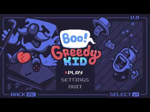 Boo! Greedy Kid   EVLADIM SEN NE TERBIYESIZ CIKTIN!  
