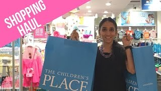 The Children's Place Shopping Haul + GIVEAWAY
