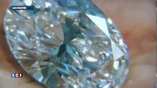 أكبر الماس  في العالم لم يسبق له ان عرض في مزاد علني