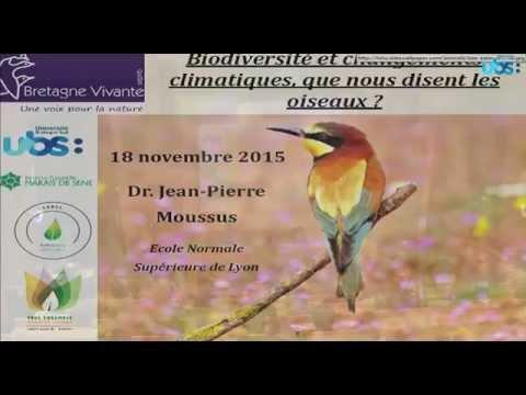 Biodiversité, changements climatiques, que nous disent les oiseaux ?