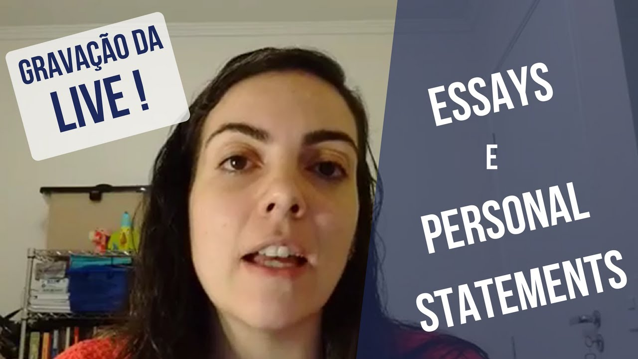 personal essay youtube This video walks a student through how to write an effective personal narrative essay.
