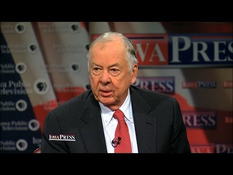 T. Boone Pickens says he supports any American source of alternative energy, including ethanol