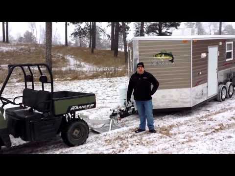 2016 ice castle 39 lake of the woods extreme 39 21 39 fish house for Fish house skis