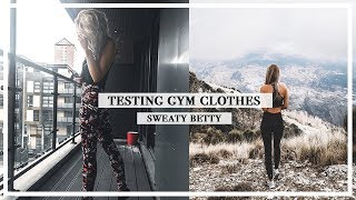 SWEATY BETTY TRY-ON HAUL AND SQUAT TEST | Copper Garden