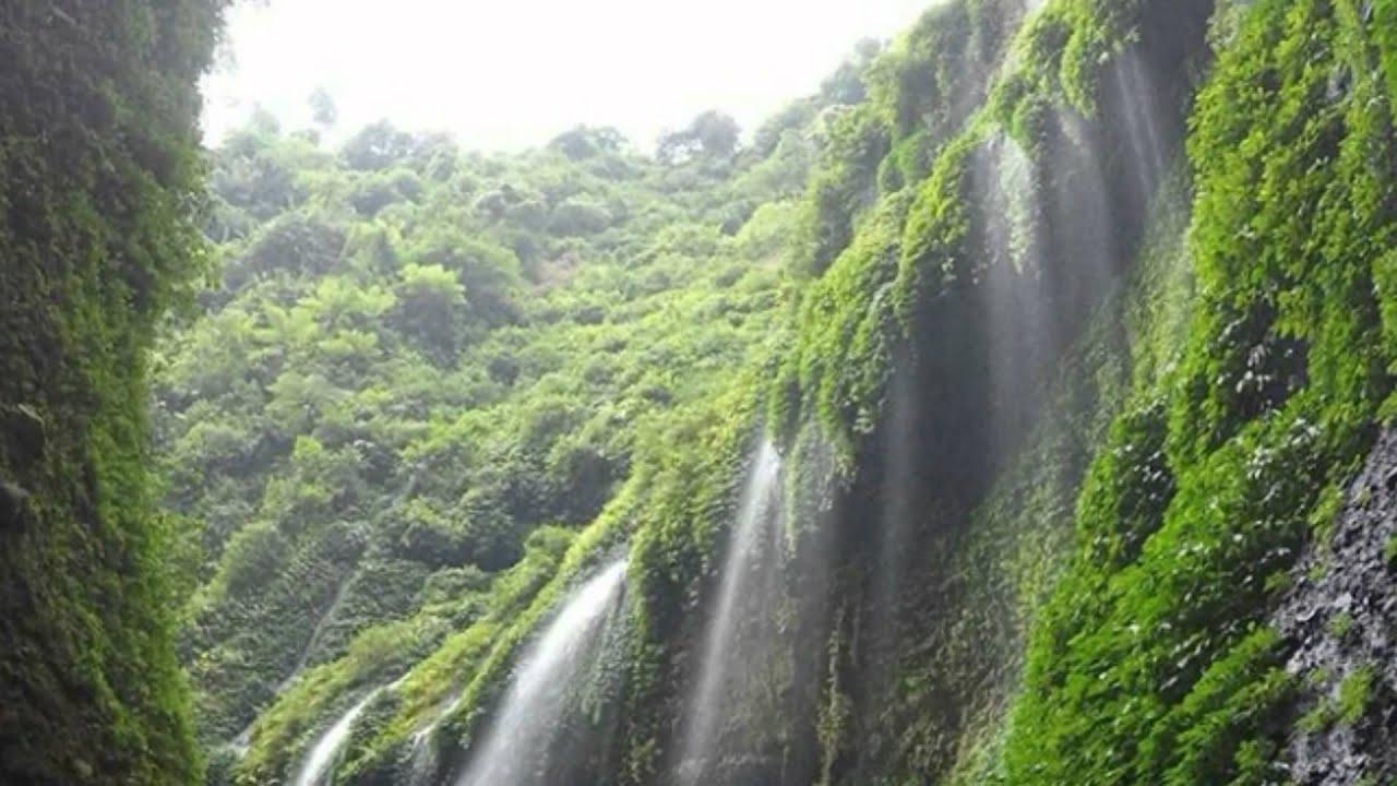 madakaripura waterfall probolinggo east java indonesia air terjun madakaripura jatim indonesia youtube