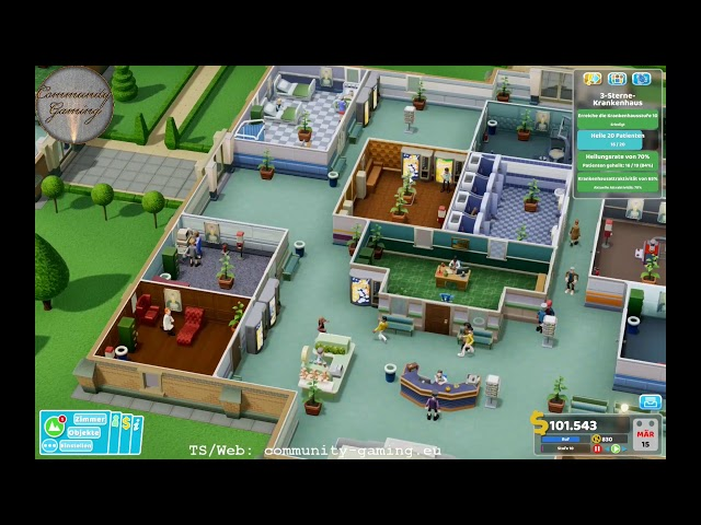 Auf nach Flottering | Folge #006 | Let's Play Two Point Hospital