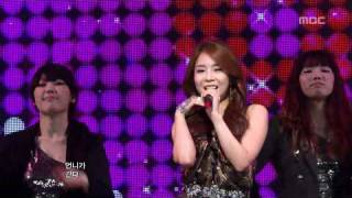 Yeon Ji Hoo - Go Go Sister, 연지후 - 언니가 간다, Music Core 20120225